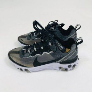 Nike React Element 87 QS Anthracite Sail Sneakers